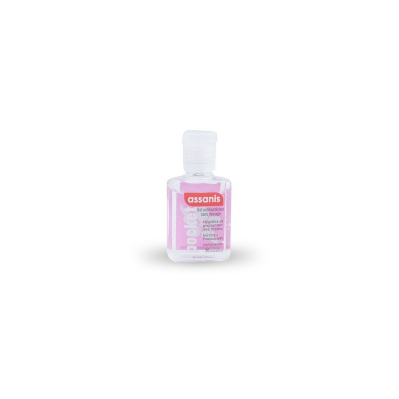 Gel Antibactérien parfum Amande 20ml