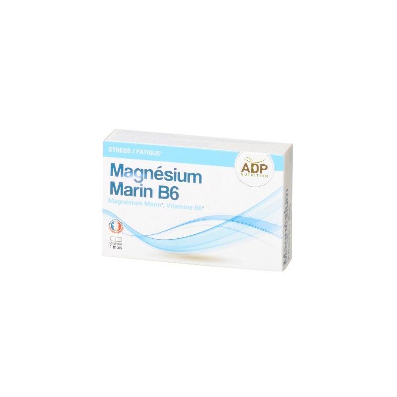 ADP - Magnésium Marin Vitamine B6  - 60 gélules