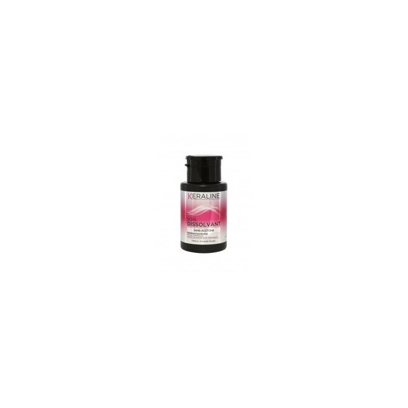 Kéraline - Soin Dissolvant SANS ACETONE Pompe Inverse - 175 ml