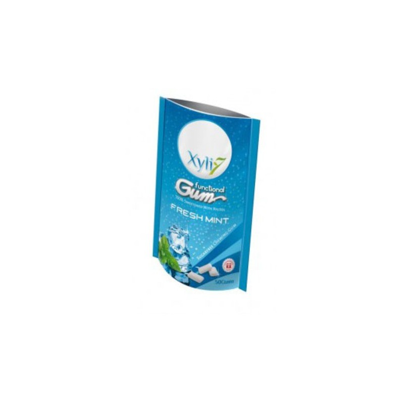 Chewing Gum Fresh Mint - 50 pièces - 70 g.