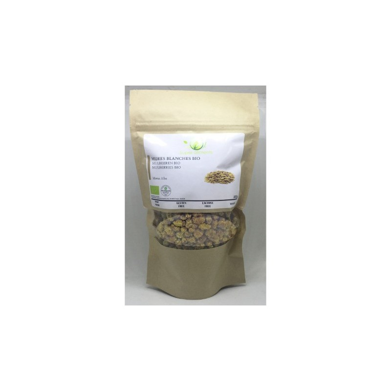 Mulberries BIO (mûres blanches) 200g