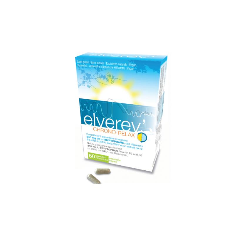Elverev' Chrono Relax - boîte de 60 comprimés