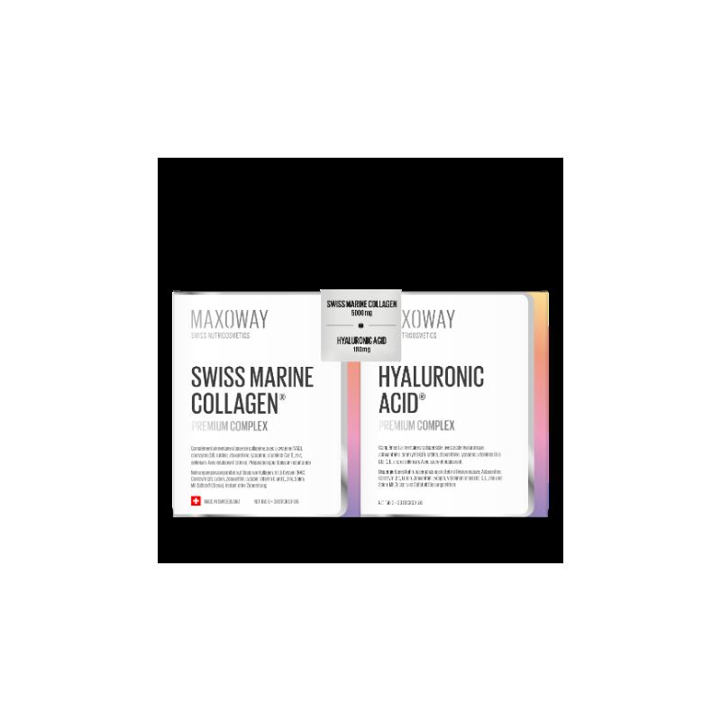 DUO SWISS MARIN COLLAGEN & HYALURONIC ACID 2x30 sticks