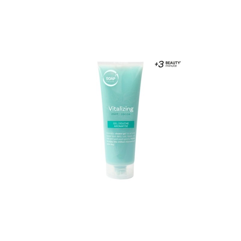 SKIN MINUTE - GEL DOUCHE MENTHE / CACAO 250 ml