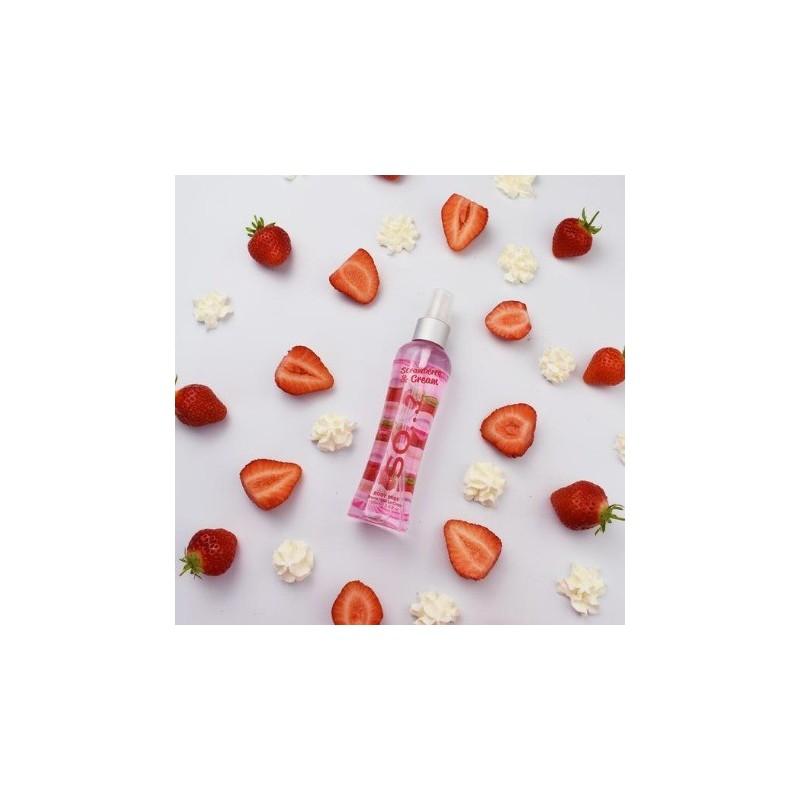 Body Mist So...? Strawberry & Cream 100ml
