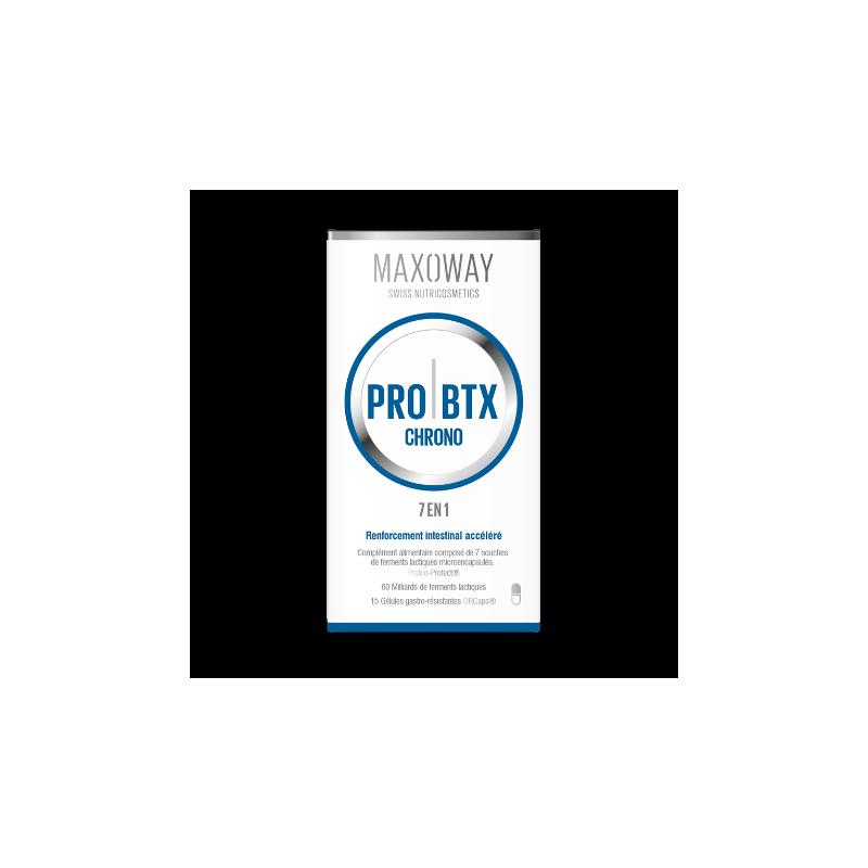 MAXOWAY - PRO BTX CHRONO 15 gélules