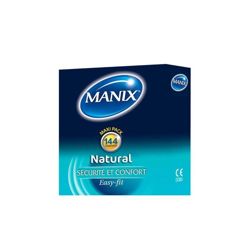 MANIX - NATURAL Boîte de 144