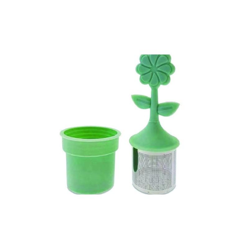 Infuseur pour tisane vert