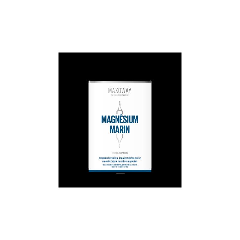 MAXOWAY - MAGNESIUM MARIN - 20 ampoules