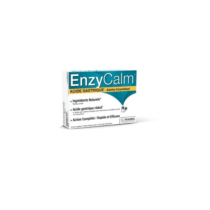 ENZYCALM - Acide Gastrique - 30 gélules