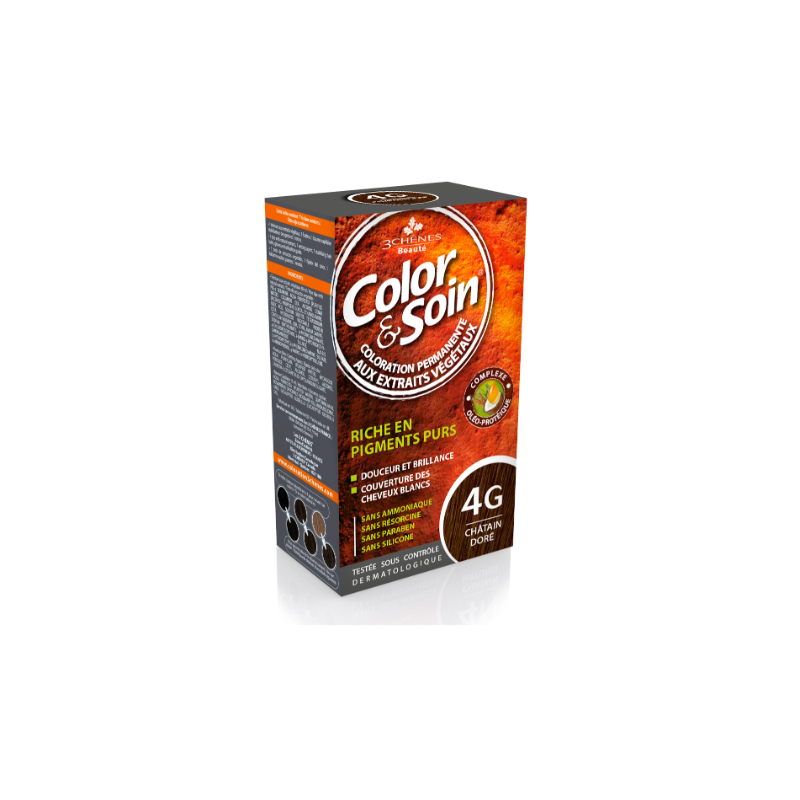 Color & Soin 4G CHATAIN DORE 135 ml