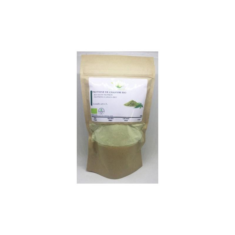 Protéines de chanvre BIO - 250g