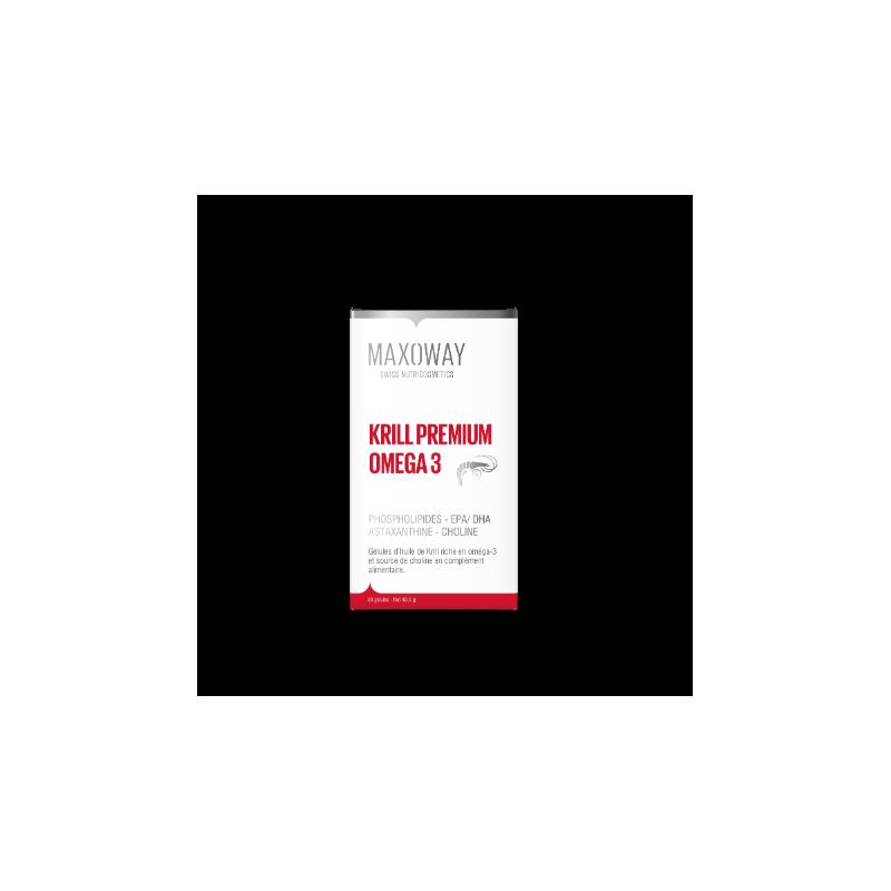 MAXOWAY - KRILL PREMIUM OMEGA 3 60 gélules